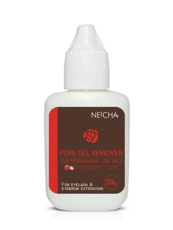remover gel strawberry